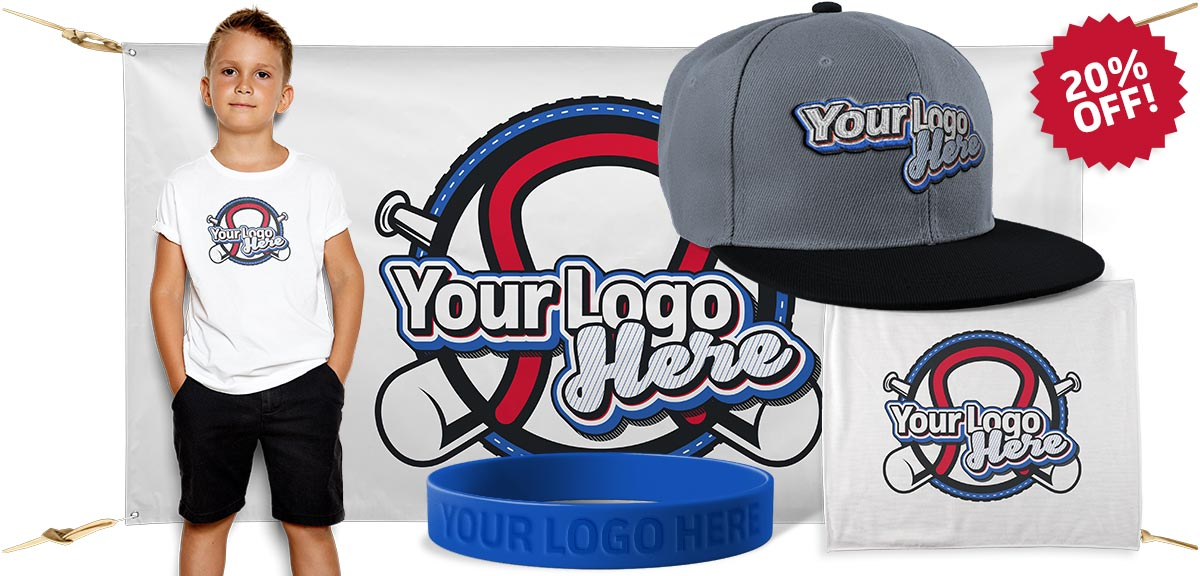 Custom Little League Rally Item Bundle 3